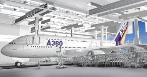 Hamburg, Airbus A380