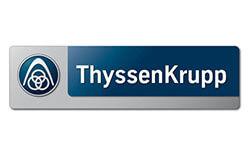 AnyMotion Kunden - Logo Thyssen
