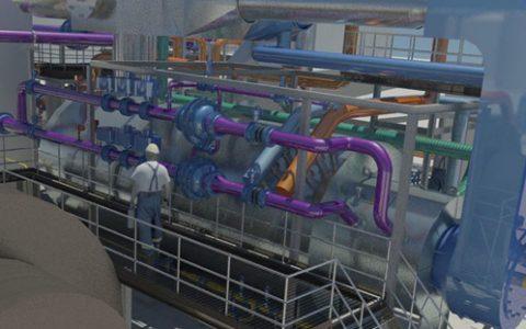 Funktionsprinzip einer Brenneranlage