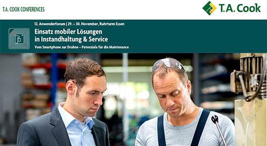 """(Deutsch) AnyMotion und das BIBA Referenten auf dem 12. Anwenderforum """"Einsatz mobiler Lösungen in Instandhaltung & Service"""""""