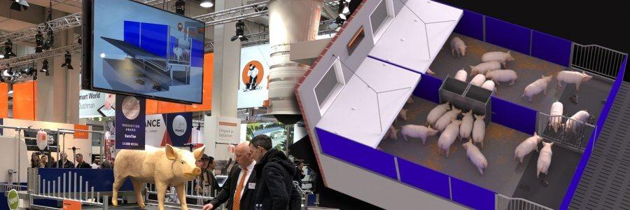 (Deutsch) EuroTier 2018 // Big Dutchman präsentiert mit 3D Computeranimation erfolgreich PigT